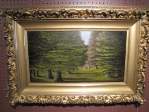 Forest Scene ca1900 Restored $2650.00