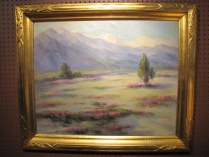The Lilacs Field by the Mountains by Adelle Phelps 1866-1945 $1450.00