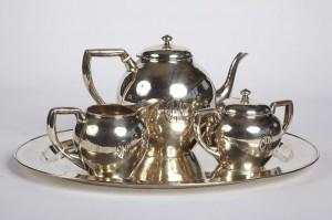 LeBolt Hand Wrought Tea Service $5950.00