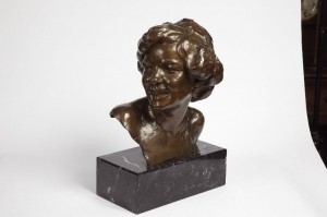 Bronze Bust by Toon Dupuis 1887-1957 $2385.00