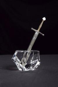 Steuben Excalibur Sword