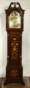 Exceptional Tobey Inlaid Hall Clock $17,500.00