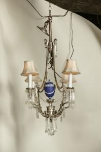 Wedgwood and Crystal Lighting Fixture $1595.00