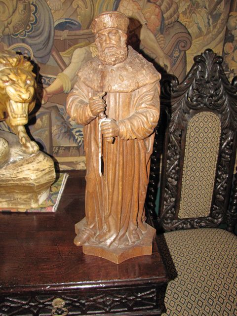 Circa 19th Century Wood Carving $1250.00