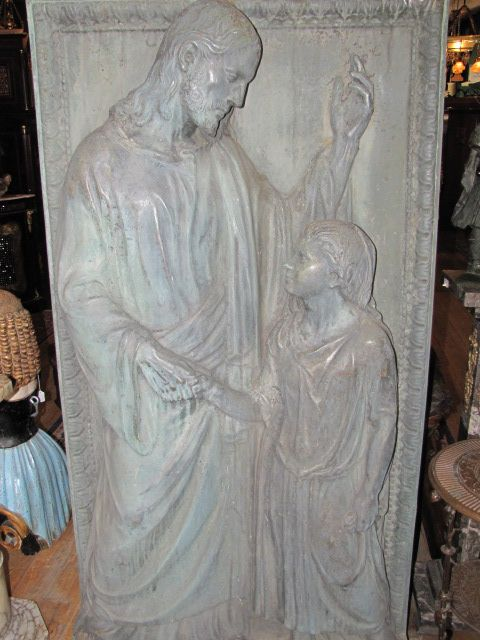 Large Bronze Religious Plaque $5500.00