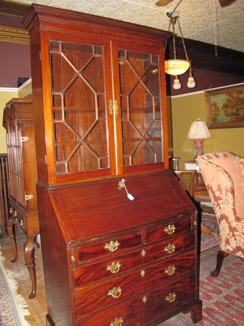 Georgian Drop Front Secretary $4850.00