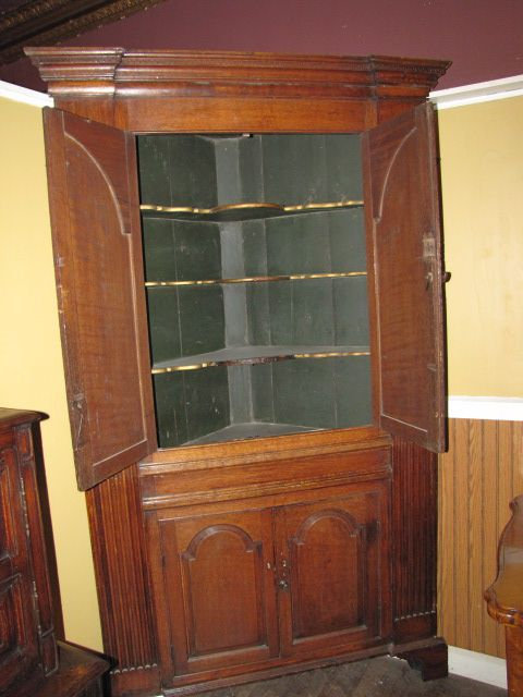 18th Century English Oak Cabinet $9850.00