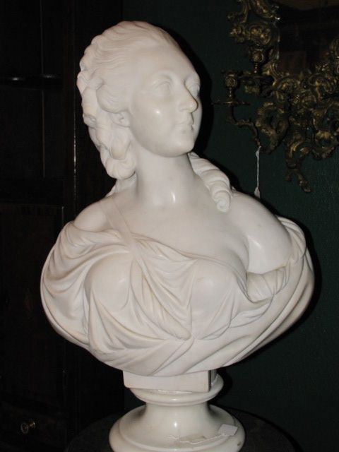 Large Marble Bust $6850.00