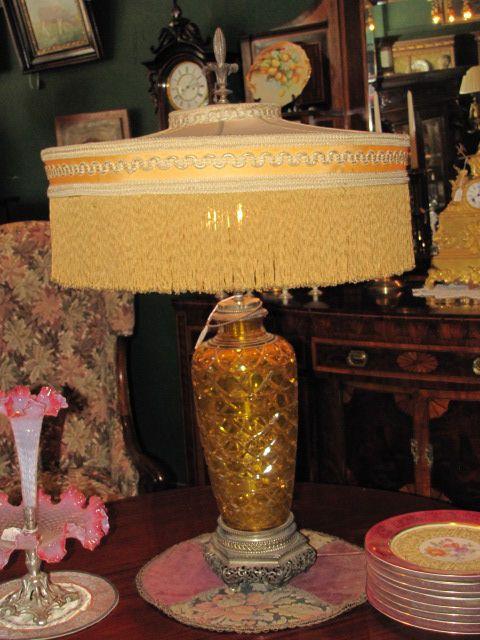 Rare Yellow Stuben Light $1975.00