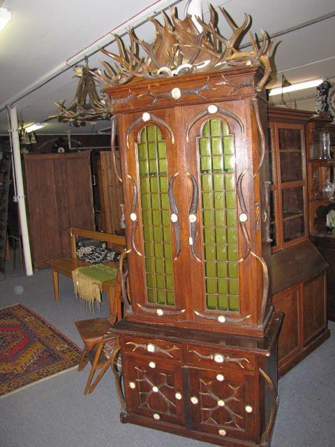 Black Forest Gun Cabinet $750.00